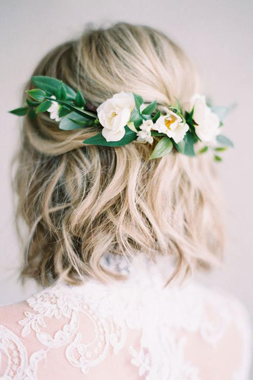 Stunning Short Hairstyles for Your Wedding Day - Southern Living