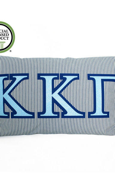 Custom Greek Throw Pillow