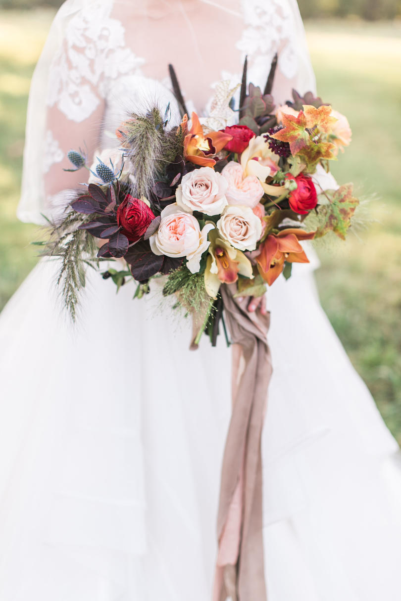 Free-Spirited Fall Bloom Bouquet