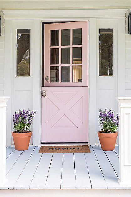 Pretty in Pink & 17 Dutch Doors We\u0027re Absolutely Loving - Southern Living