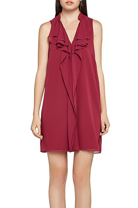 BCBGeneration Ruffle Tent Dress