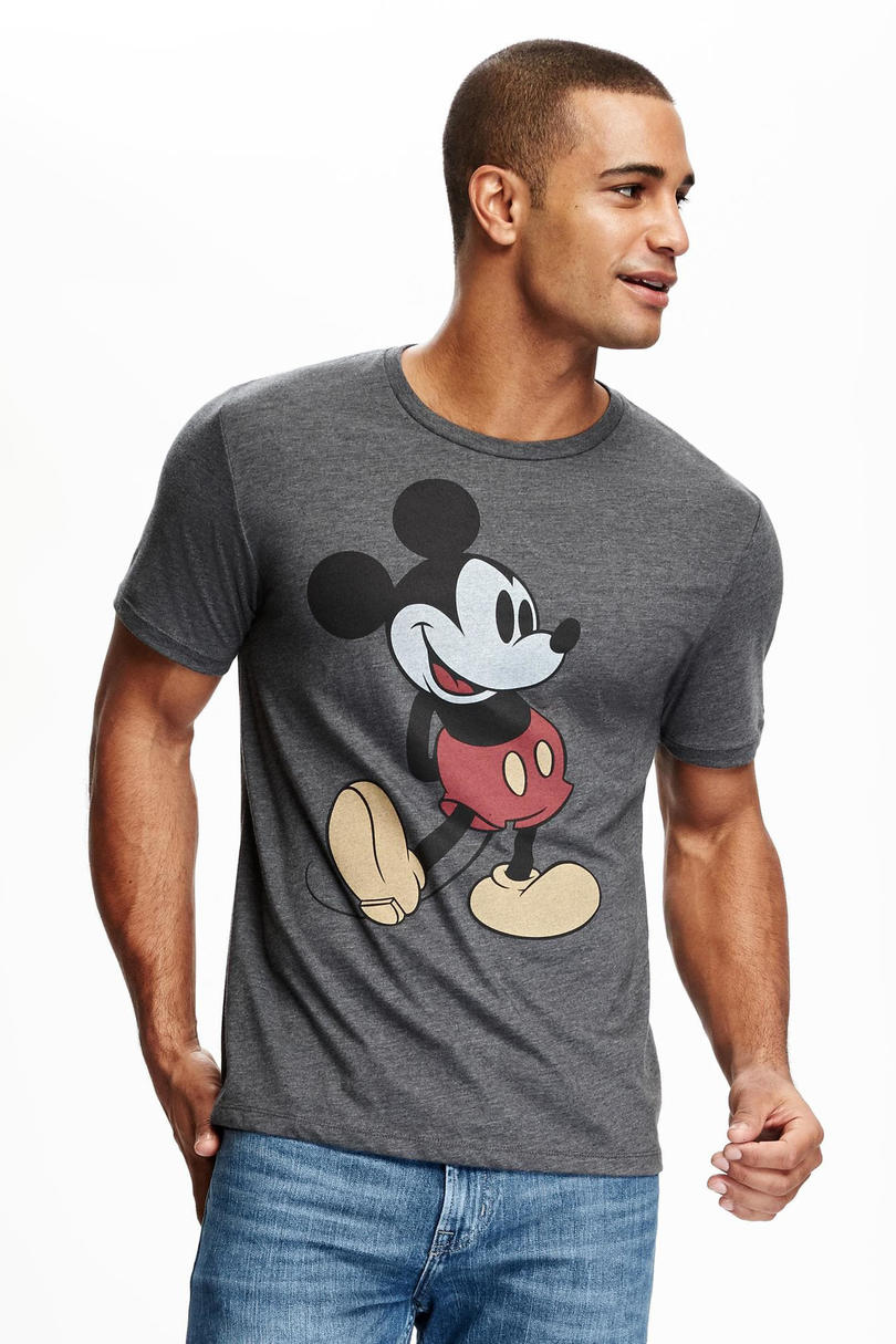Mickey Mouse Graphic Tee for Men