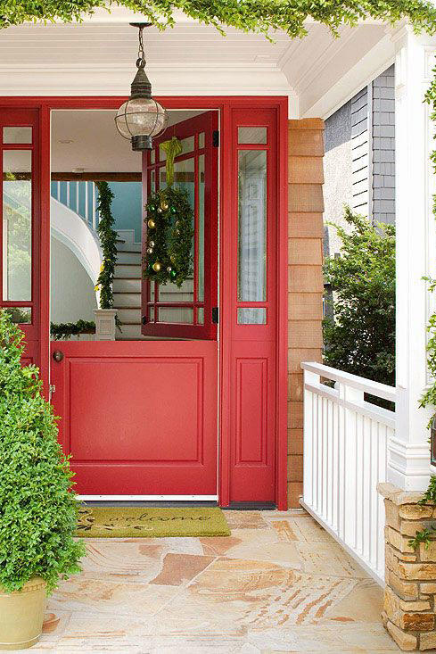 Merry Red Door