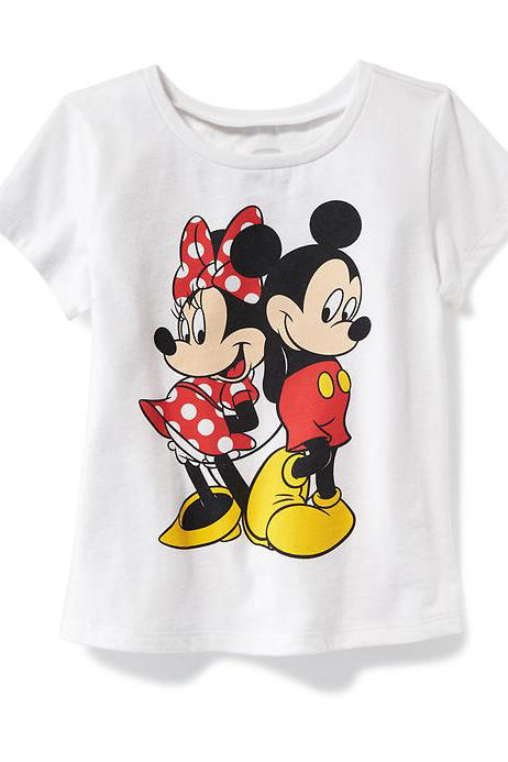 Mickey and Minnie Tee for Toddler