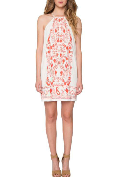 Willow & Clay Embroidered Cotton Dress