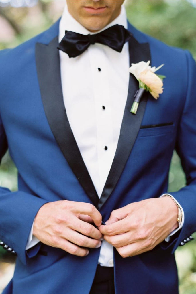 Navy with a Noteworthy Lapel