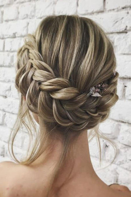 Wedding Updos For Long Hair.Gorgeous Updos For Bridesmaids