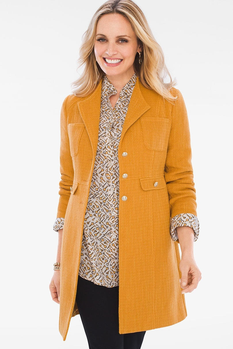 Chico's Modern Textured Jacket