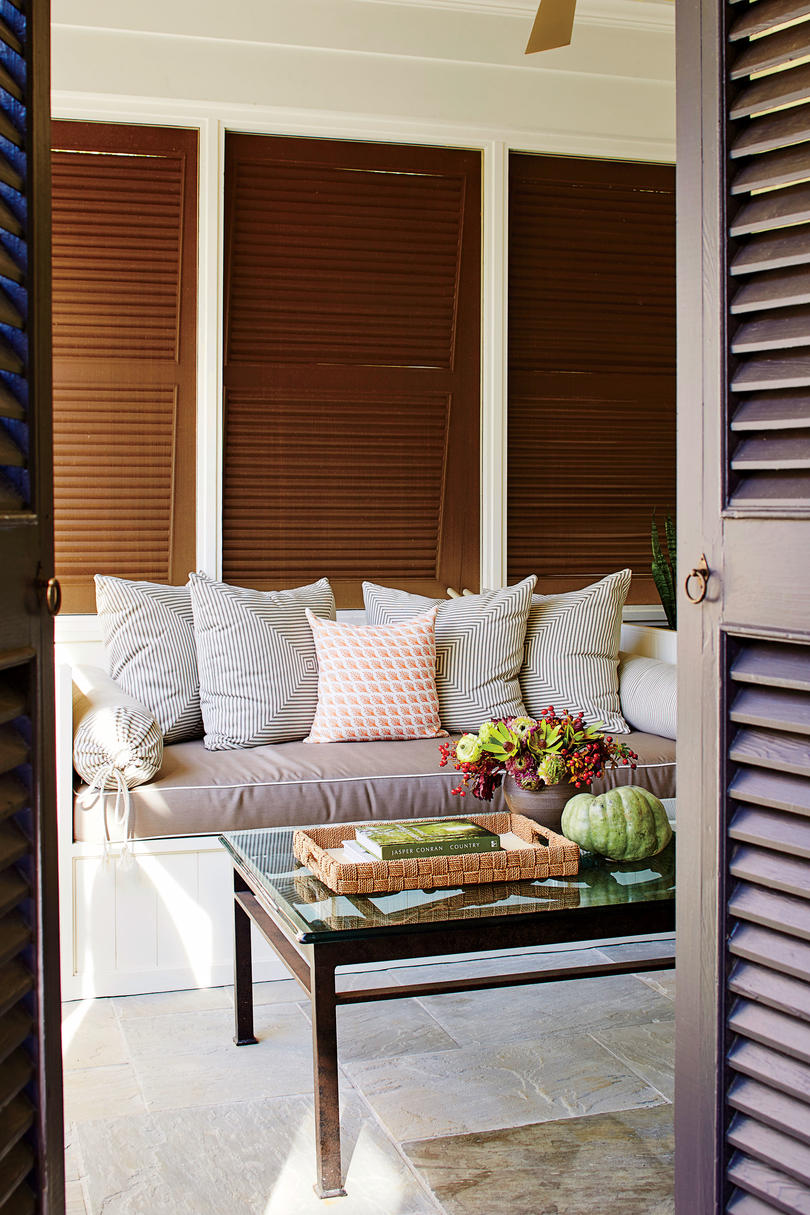 Porch with Daybed