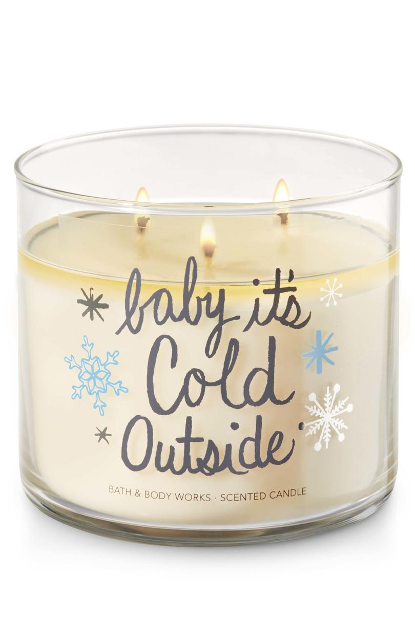 Fireside Baby It's Cold Outside Bath & Body Works Candle