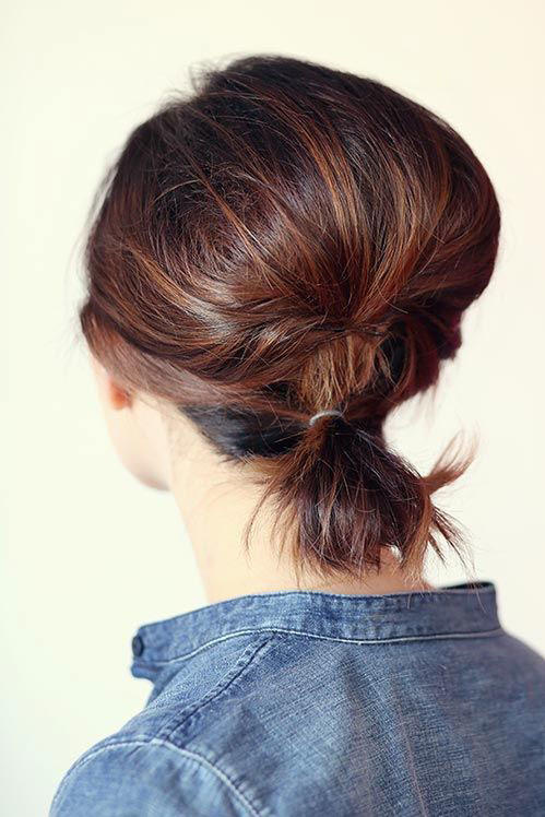 Bob-Length Ponytail