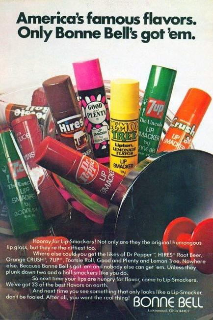1710_ 80s Beauty Bonne Bell Lip Smackers
