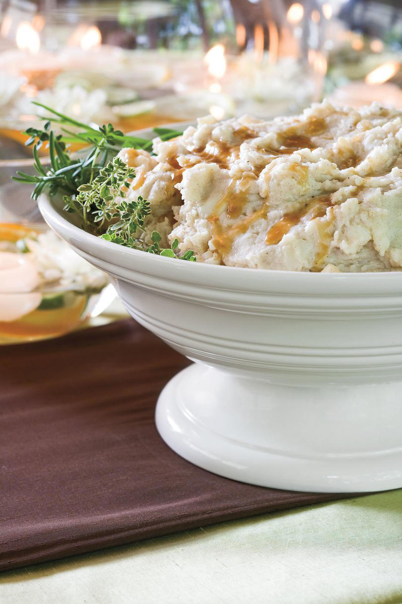 Browned Butter Mashed Potatoes