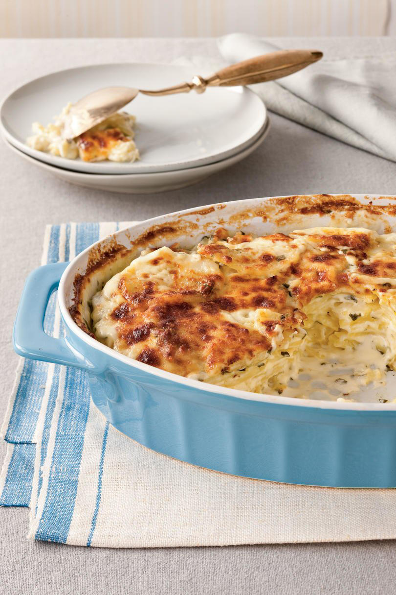 RX_1810 13x9 Thanksgiving Casserole Recipes_Classic Parmesan Scalloped Potatoes