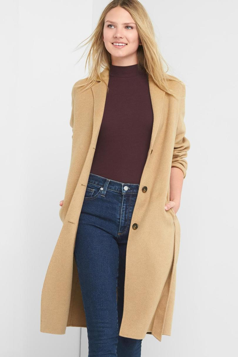 Gap Classic Wool Coat