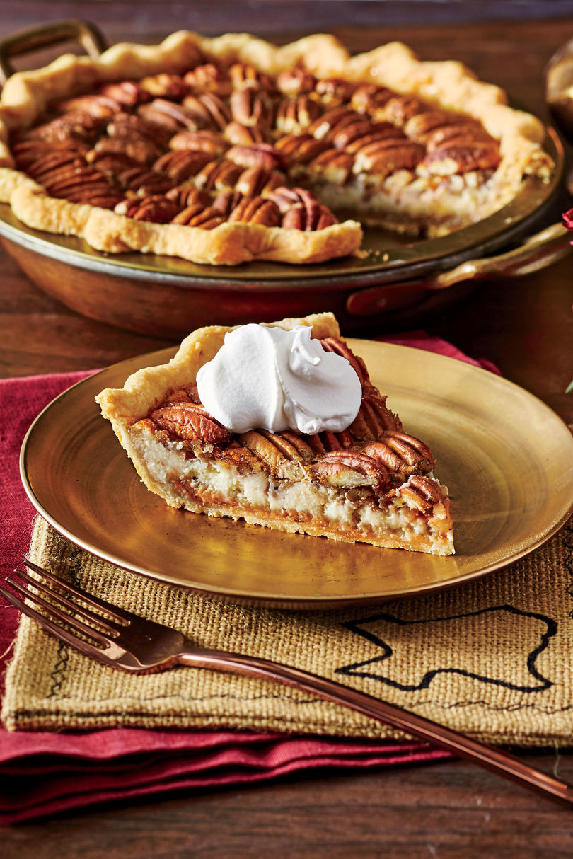 Double-Decker Pecan Cheesecake Pie