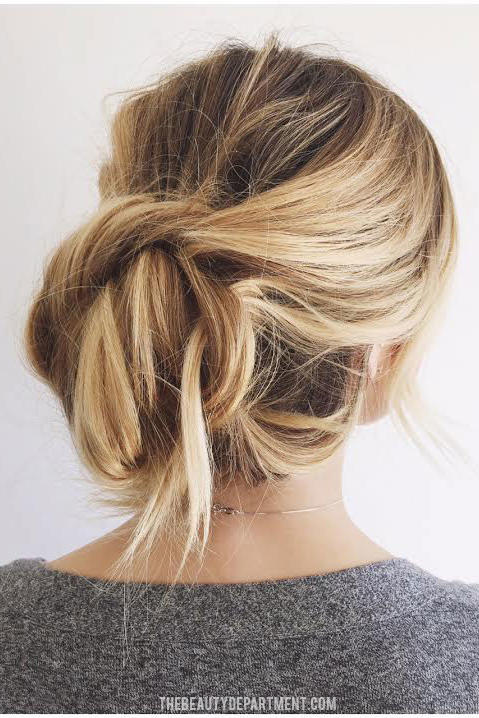 """""""Easiest Updo Ever"""""""