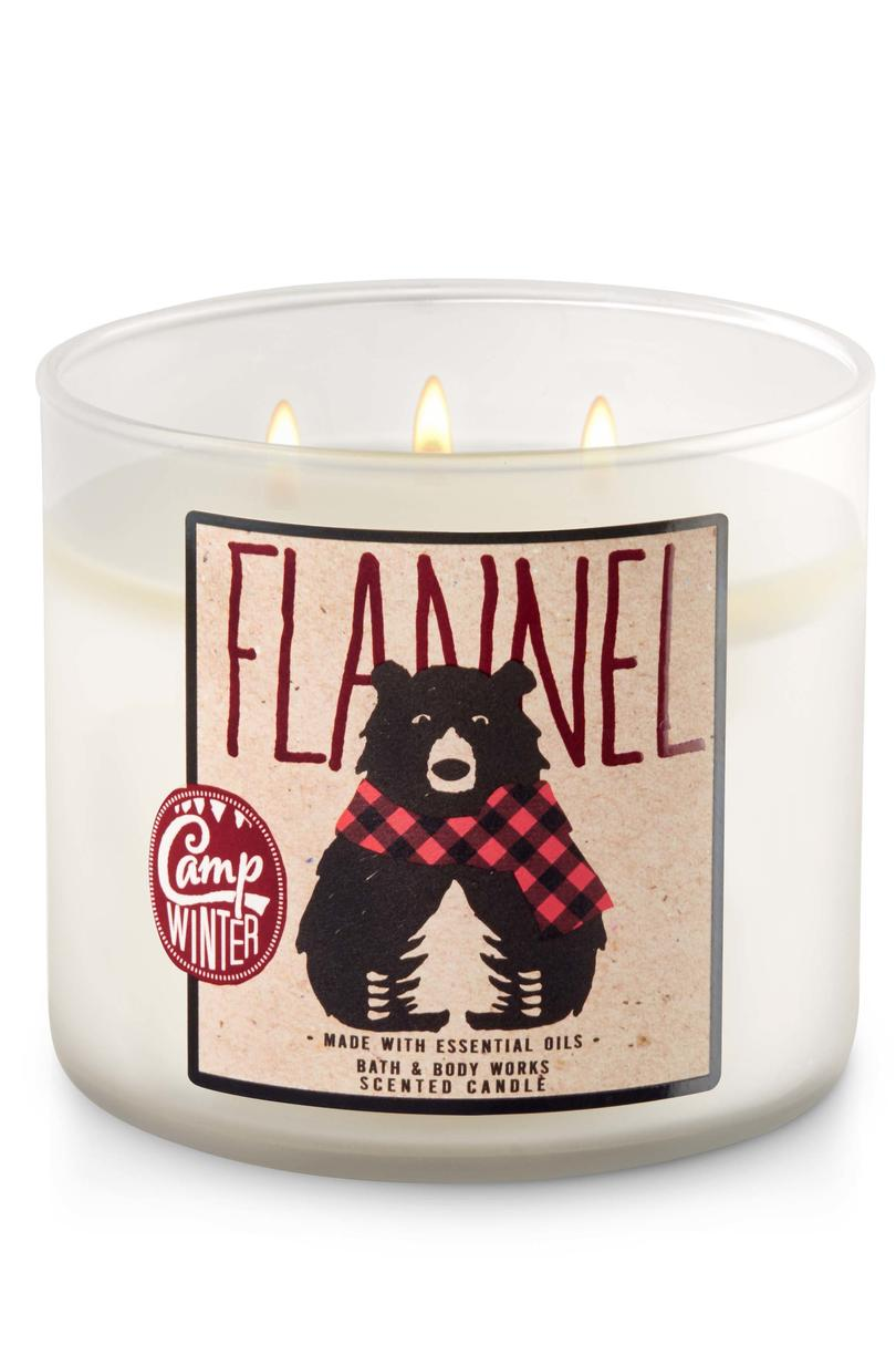 Flannel Bath & Body Works Candle