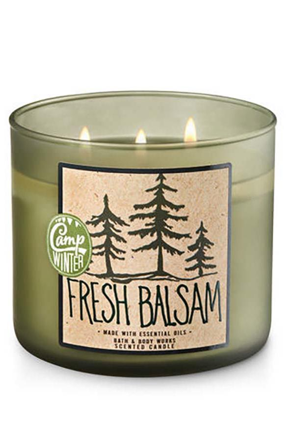 Fresh Balsam_Bath & Body Works Candle