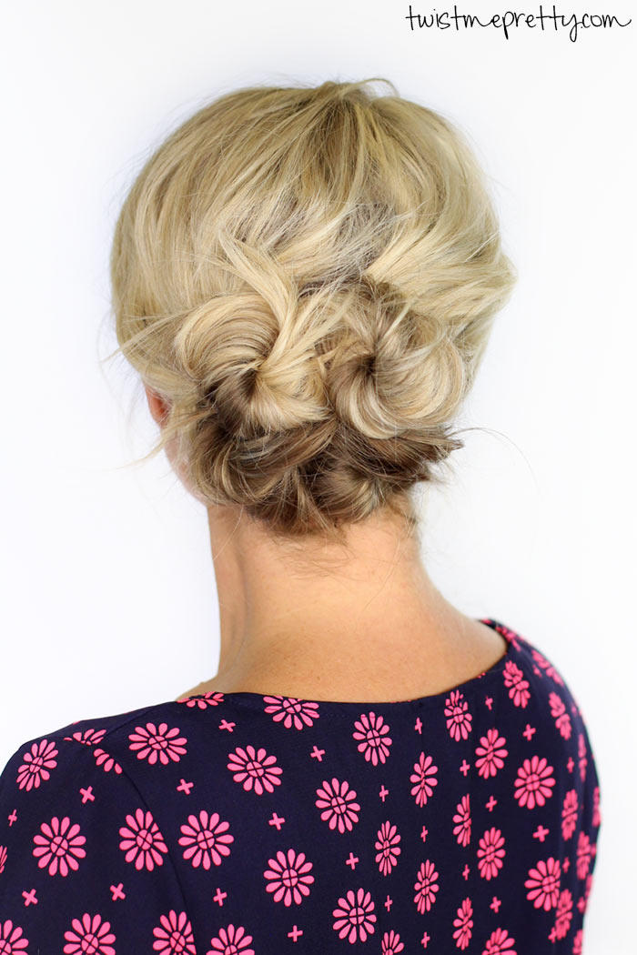 Great updos for medium length hair southern living knotted updo solutioingenieria Image collections