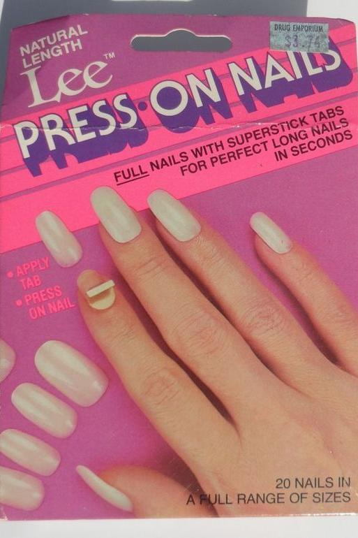 Lee Press-On Nails