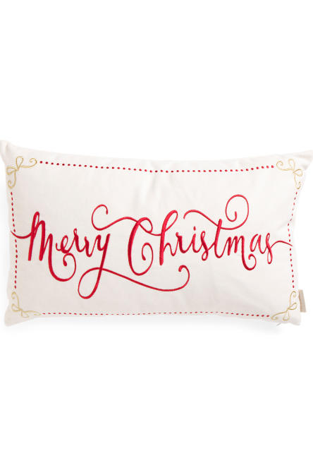Merry Christmas Pillow