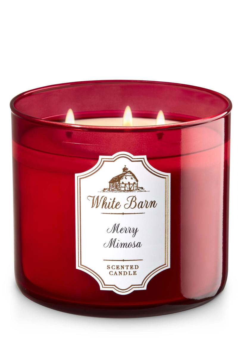 Merry Mimosa_Bath & Body Works Candle