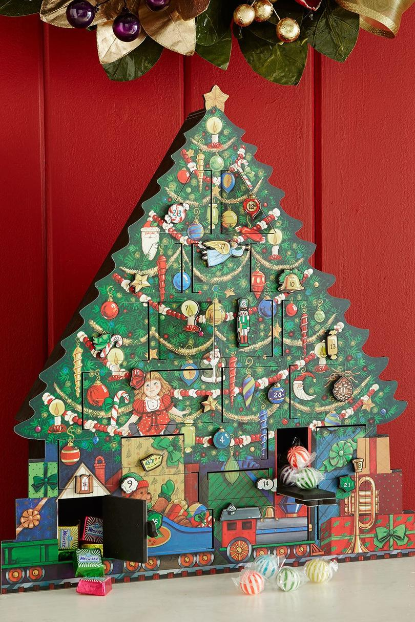 christmas tree advent calendar - Classic Christmas Trees