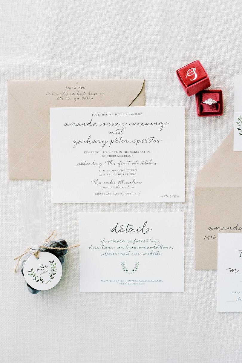 Lively and Light Invitation Suite