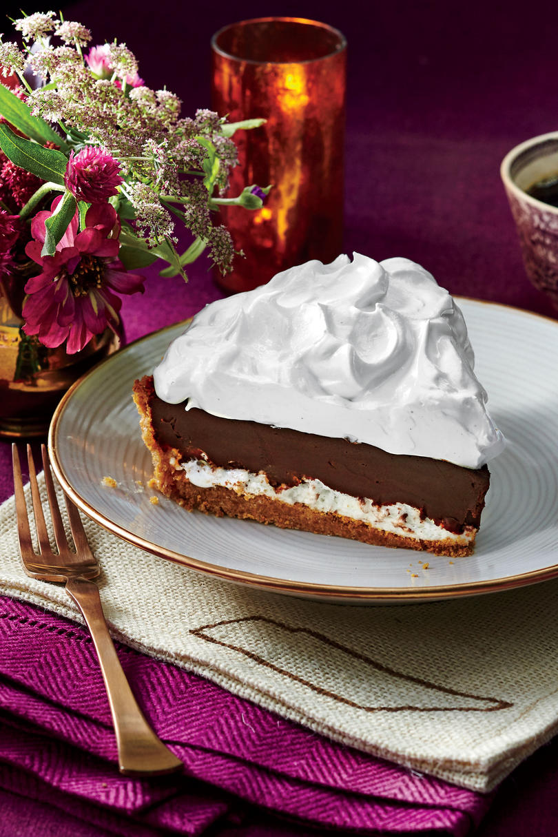 Over the Moon Chocolate Pie