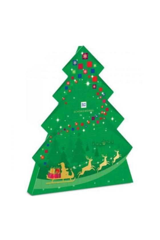Ritter Sport Christmas Tree Advent Calendar