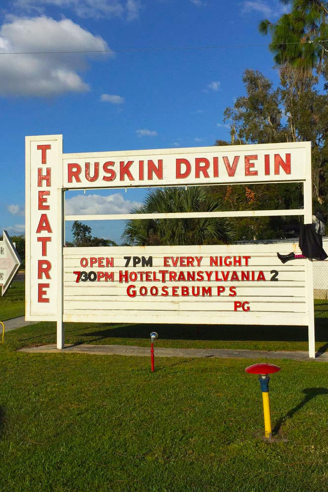 Ruskin Family Drive-In Theatre