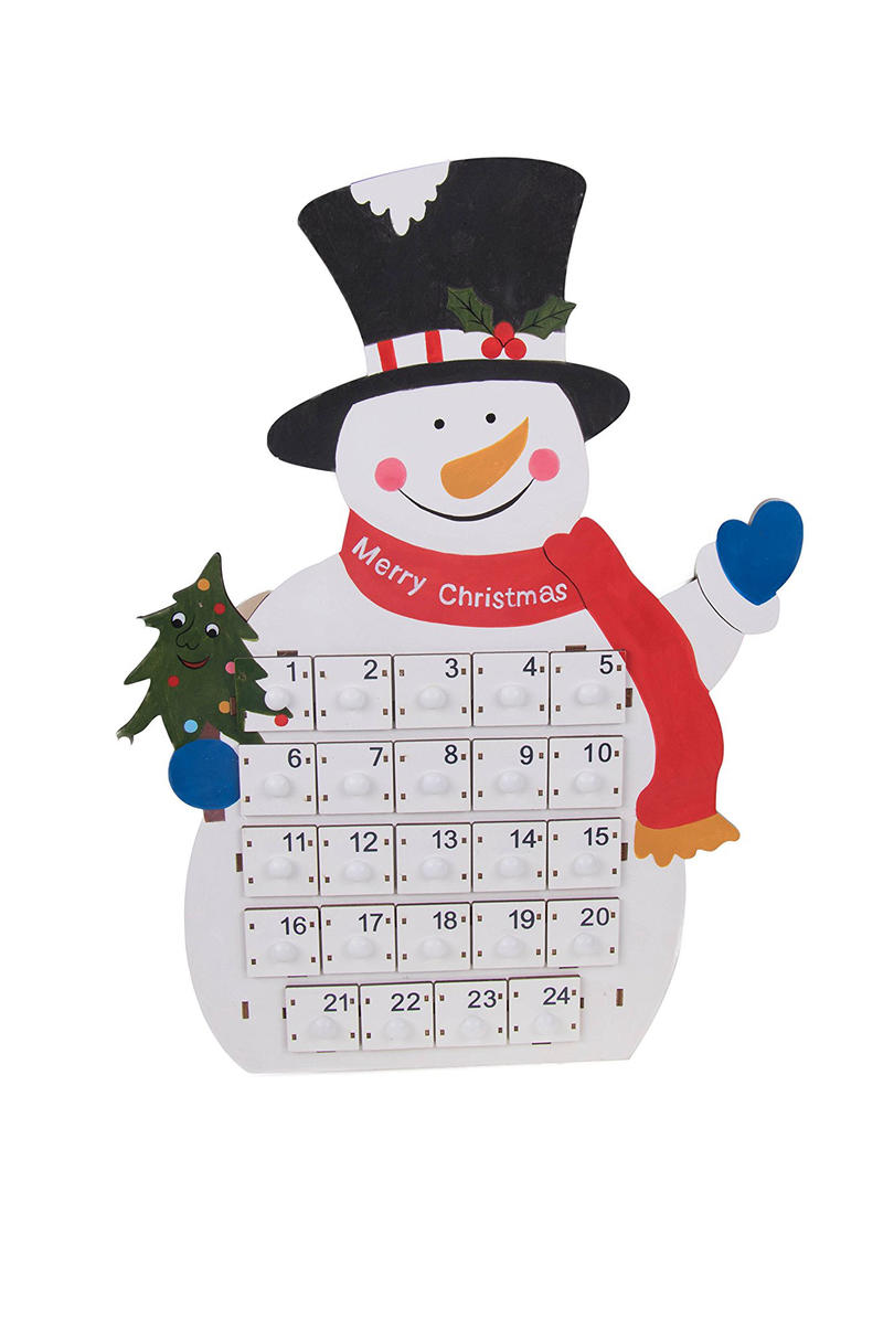 Tall Snowman Advent Calendar