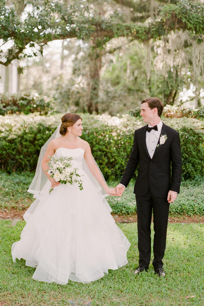 Emily and Liam: Bride and Groom