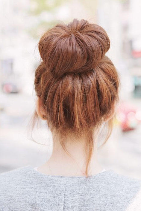 Voluminous Bun