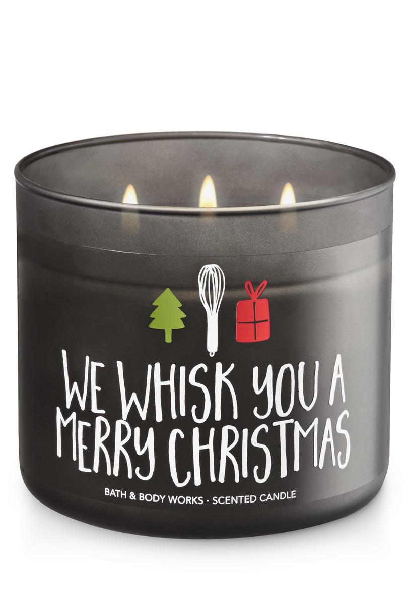 Maple Cinnamon Pancakes We Whisk You A Merry Christmas Bath & Body Works Candle