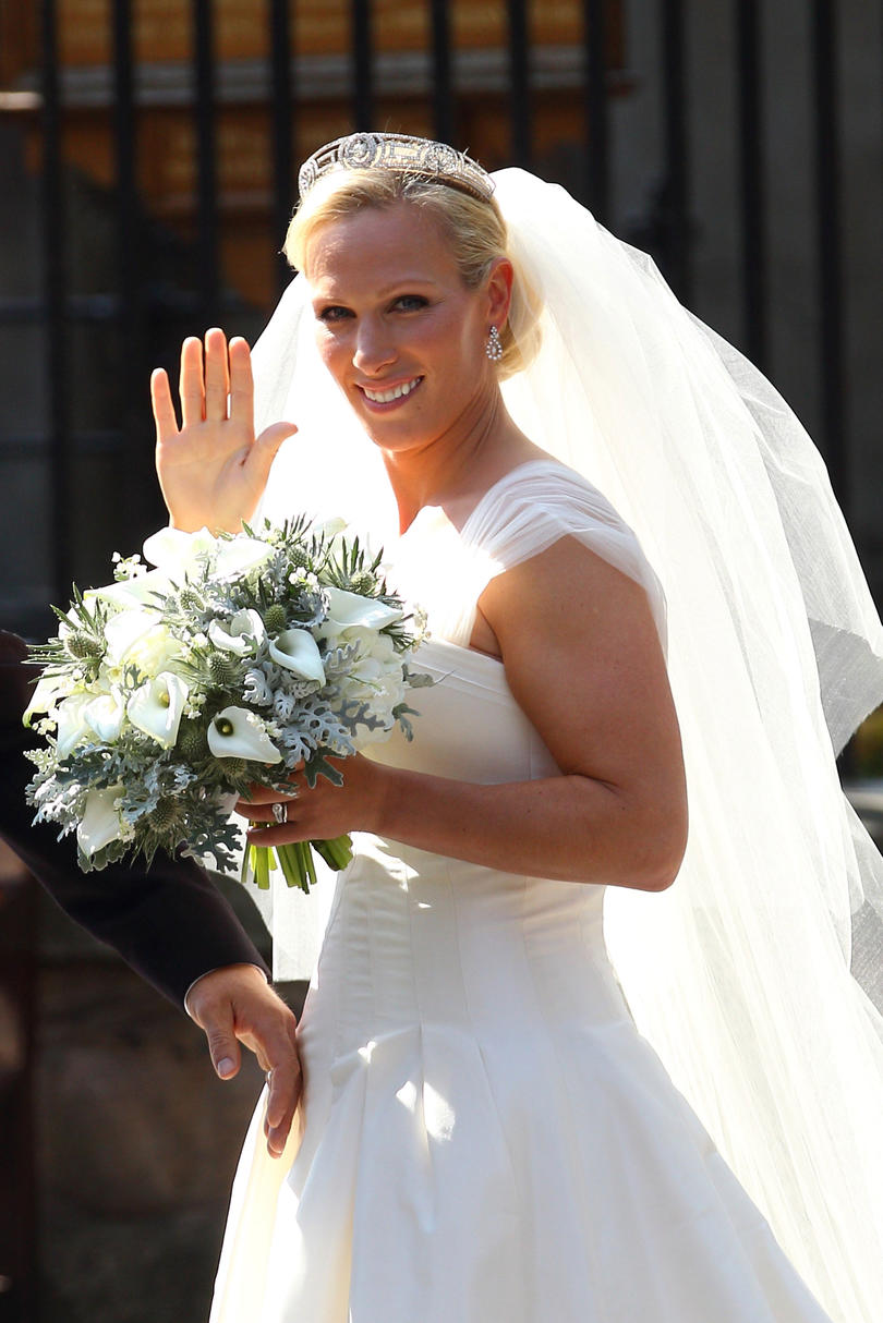 Wedding Bouquet: Zara Phillips