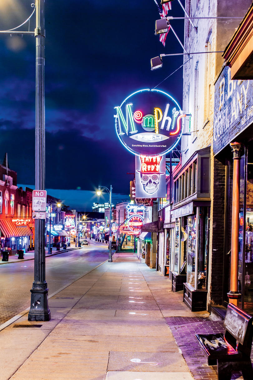 Memphis, Tennessee- Bluff City