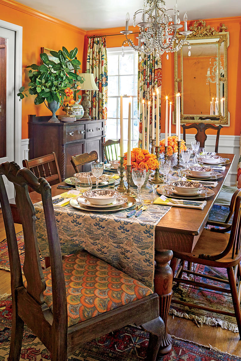 Formal Thanksgiving Table Setting