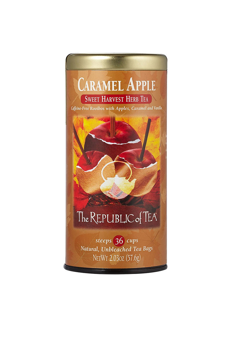 The Republic of Tea Caramel Apple Sweet Harvest Herb Tea