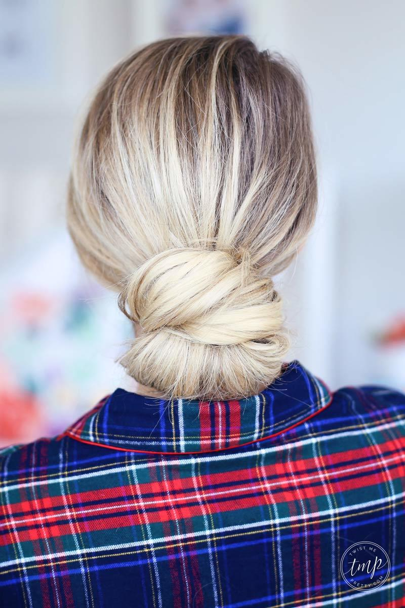 Fast Festive 5 Minute Holiday Hairstyles
