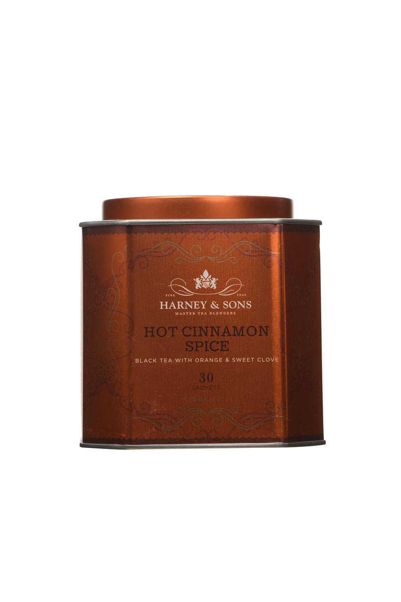 Harney & Sons Hot Cinnamon Spice Black Tea with Orange and Sweet Clove
