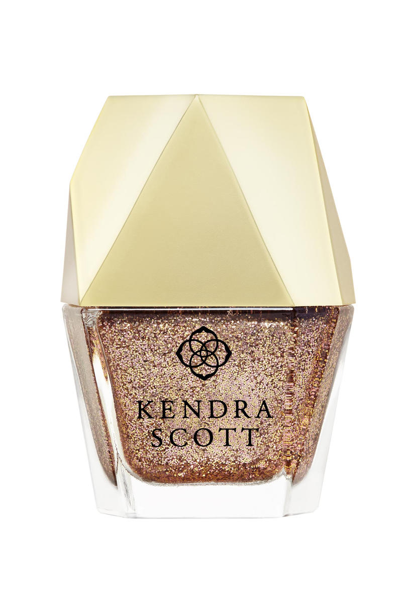 Kendra Scott Rose Gold Drusy Nail Lacquer