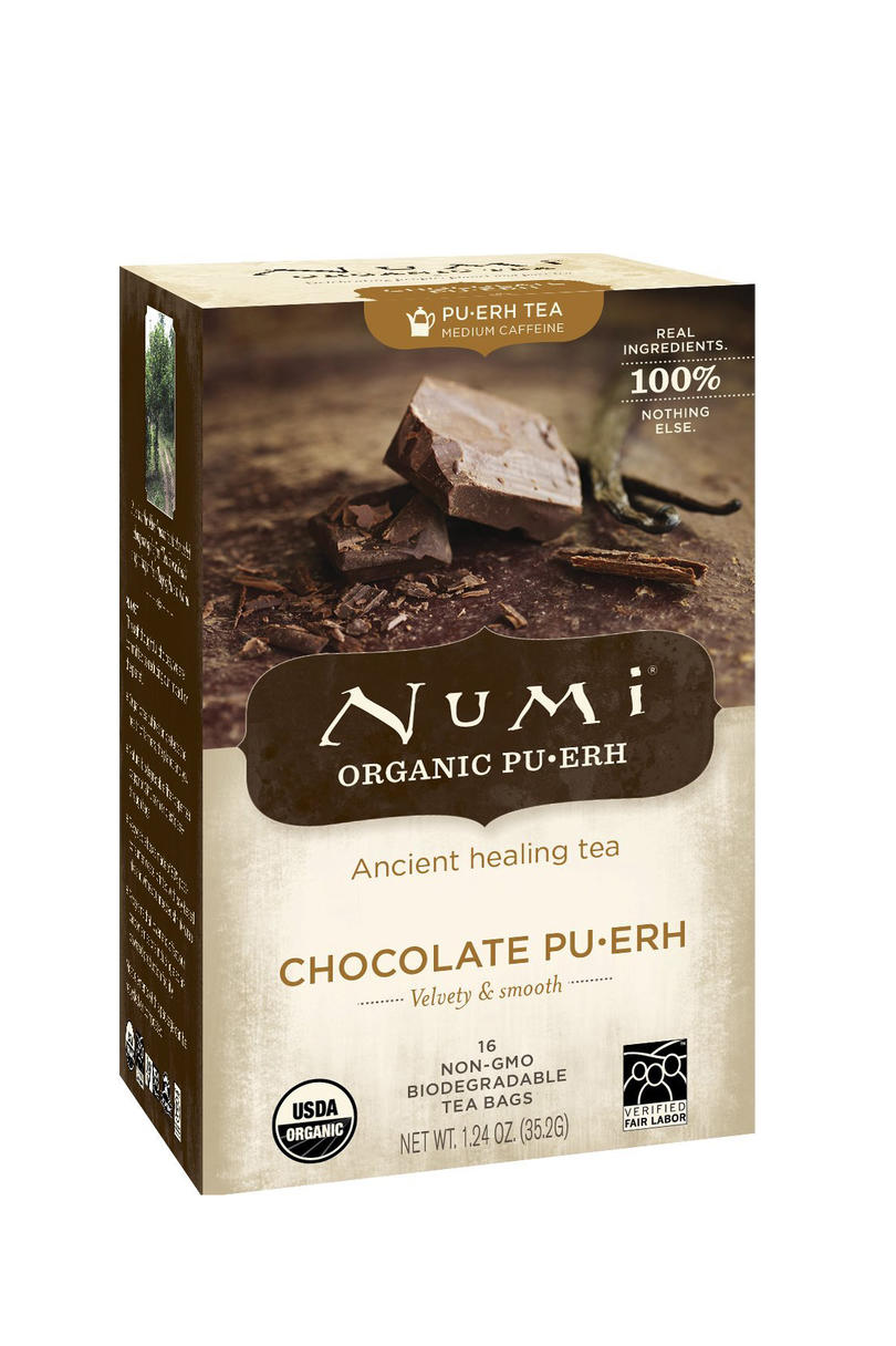 Numi Organic Chocolate Pu-erh Tea
