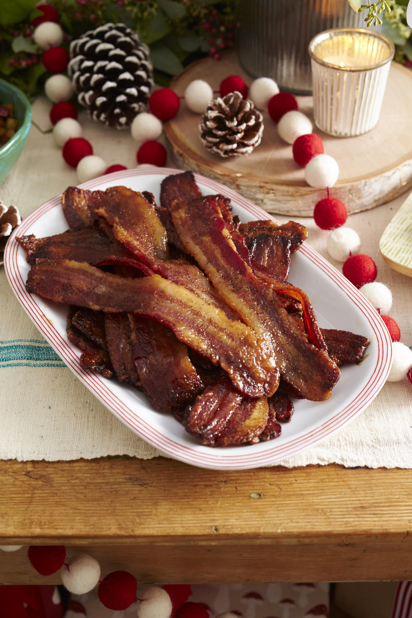 Sweet-and-Spicy Sheet Pan Bacon Recipe