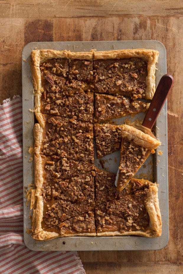 Sweet Potato Slab Pie