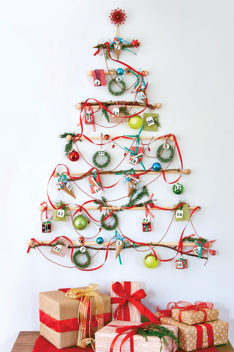 Small Christmas Trees with Extra Christmas Spirit - Southern Living
