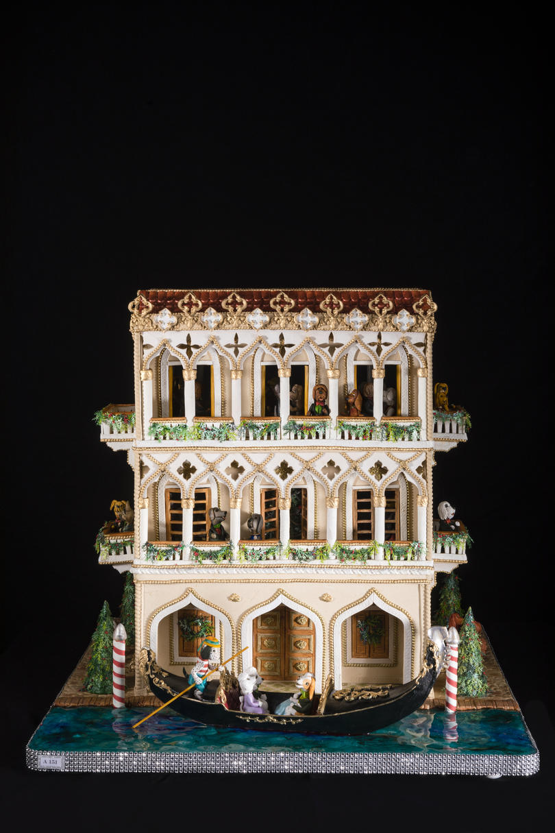 The Venetian Experience Gingerbread House Competition
