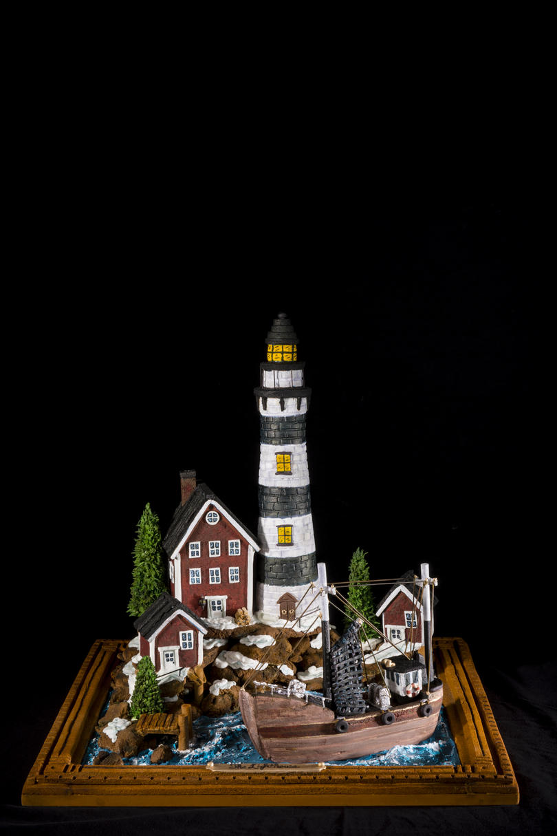 The Lighthouse Gingerbread House Competition