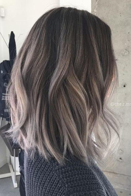hair colour and style ideas hair color trends for 2018 southern living 8304 | charcoal